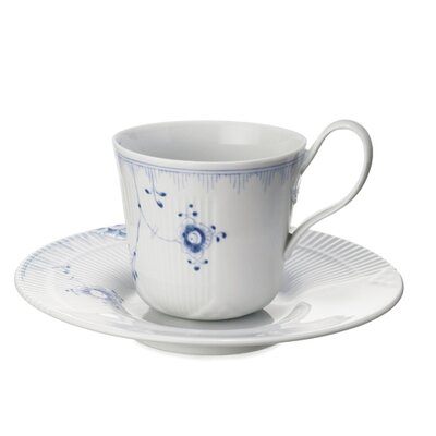 Royal Copenhagen Elements 6.5 oz. Cup and Saucer