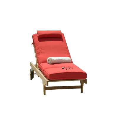 Three Birds Casual Boxed Outdoor Chaise Lounger Cushion