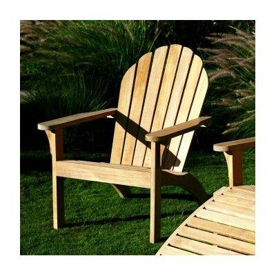Three Birds Casual Adirondack Chair and Footstool Set