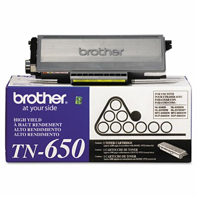 Brother TN650 High-Yield Toner