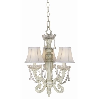 Essentials 3 Light Chateau Mini Chandelier Product Photo