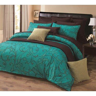 Peacock Blue Bedding