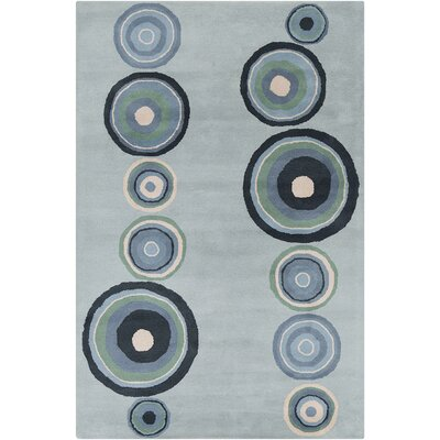 Allie Hand Tufted Wool Blue Area Rug by Chandra