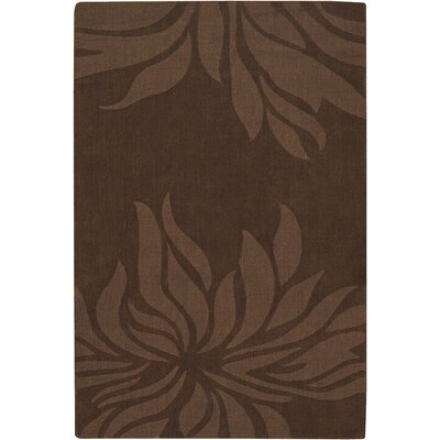 Jaipur Brown Floral Area Rug by Chandra