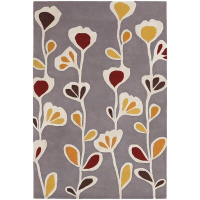 Chandra Rugs Inhabit Designer Gray Area Rug