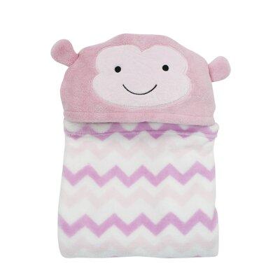 Pinkie Hooded Coral Blanket by Bedtime Originals
