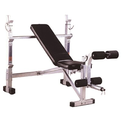 Power Adjustable Olympic Bench by Phoenix Health and Fitness