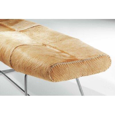 Carey Leather Bedroom Bench by Modloft