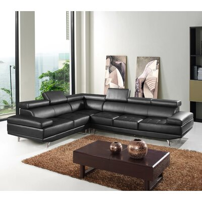 Hokku Designs Oshkosh Left Hand Facing Sectional