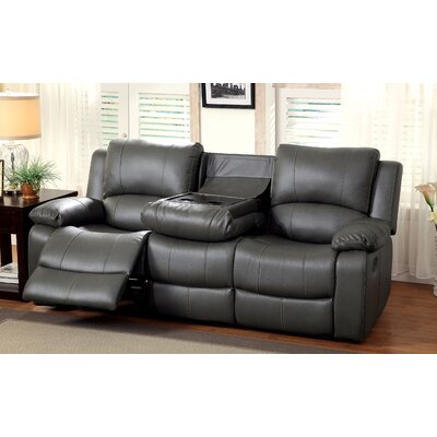 Astes Reclining Sofa by Hokku Designs