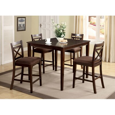 Counter Height Dining Sets 5 Piece : ... Designs Easton 5 Piece Counter Height Dining Set & Reviews Wayfair