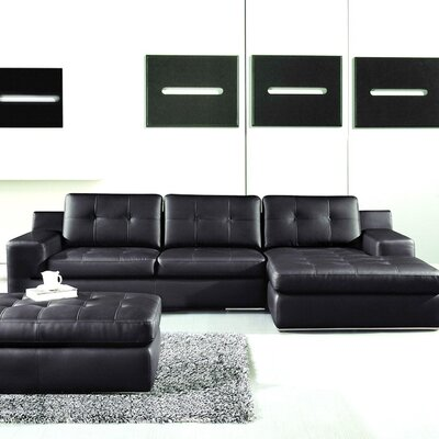Modal Right Hand Facing Sectional by Hokku Designs