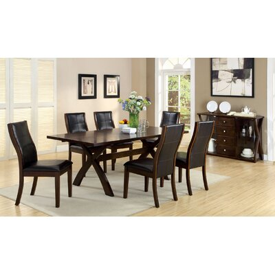Hokku Designs Wellington Expandable 7 Piece Dining Set