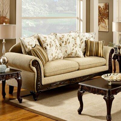 Aveline Cotton Sofa by Hokku Designs