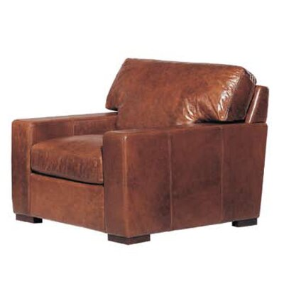 Brussels Classic Leather Armchair by Hokku Designs