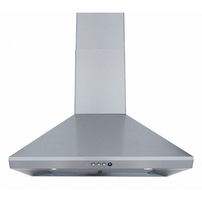 680 CFM Wall Mount Range Hood in Stainless Steel Product Photo