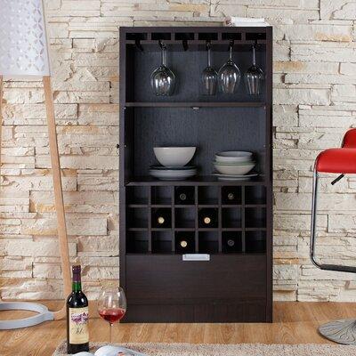 Merino 18 Bottle Wall Mounted Wine Rack by Hokku Designs