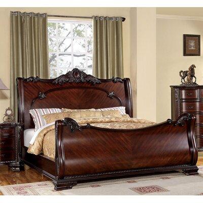 Helena Sleigh Bed by Hokku Designs