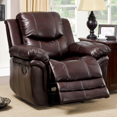 Veigar Leather-Like Recliner by Hokku Designs