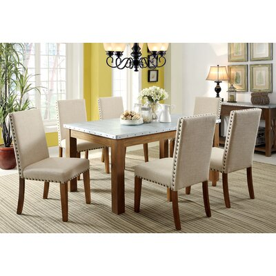 Crista 7-Piece Dining Set by Hokku Designs