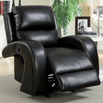 Momba Faux Leather Recliner Chair by Hokku Designs