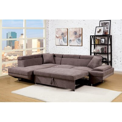 Zalor Contemporary Sleeper Sofa by Hokku Designs