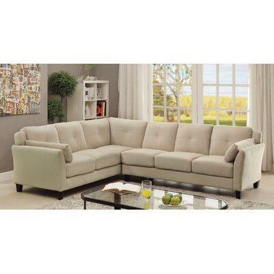 Saxton Contemporary Sectional by Hokku Designs