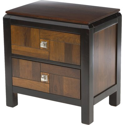 Petra 2 Drawer Nightstand by Hokku Designs