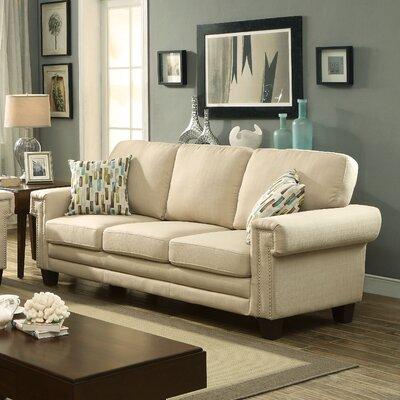 Hokku Designs KUI7582 Prissalla II Nailhead Trim Sofa
