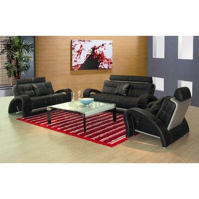 Hokku Designs Arthur Leather Chair