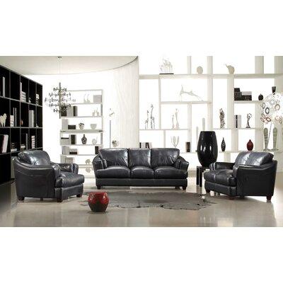 ESP Riotinto 3 Piece Leather Sofa Set by Hokku Designs