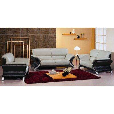 Hokku Designs Keith Leather Chair