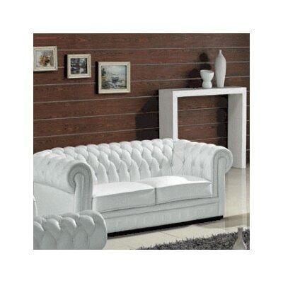 Hokku Designs Madeline Leather Sofa