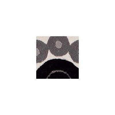 Hokku Designs Como White/Grey Area Rug