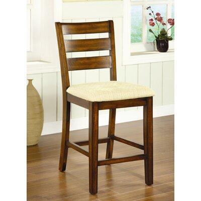 "Hokku Designs Pristine 25.25"" Bar Stool with Cushion"