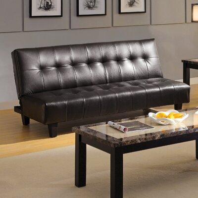 Hokku Designs Belmont Leatherette Convertible Sofa