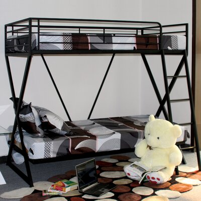 Manzini Twin over Twin Bunk Bed by Hokku Designs