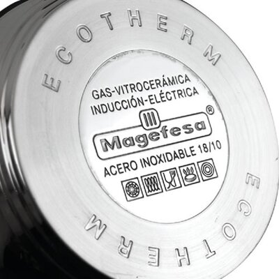 Magefesa Ecotherm Stainless Steel 12-Piece Cookware Set