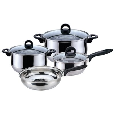 Priminute Bohemia Stainless Steel 7 Piece Cookware Set by Magefesa