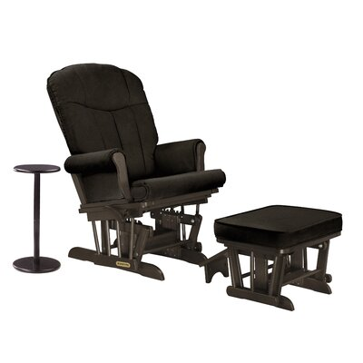 Sleigh Glider and Ottoman by Shermag