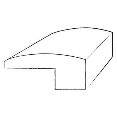 """Shaw Floors 0.75"""" x 78"""" Threshold / Carpet Reducer in Gunstock"""