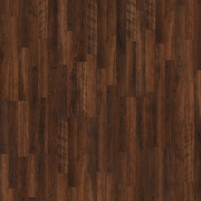 "Shaw Floors Natural Values II 8"" x 48"" x 6.35mm Cherry Laminate in Black Canyon Cherry"