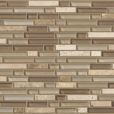 Mixed Up Random Sized Natural Stone Mosaic Tile in Canyon by Shaw Floors