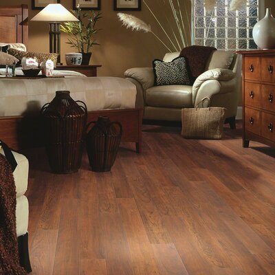 "Shaw Floors Caribbean Vue 5"" x 48"" x 7.94mm Cherry Laminate in Victoria Cherry"
