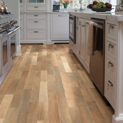 "Shaw Floors Landscapes 8"" x 48"" x 6.5mm Maple Laminate in Holbrook Maple"