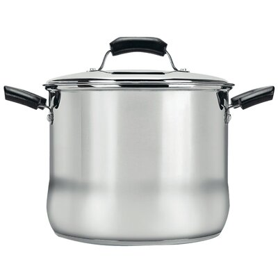 8-qt. Stock Pot with Lid by Range Kleen