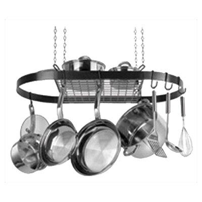 Oval Hanging Pot Rack by Range Kleen