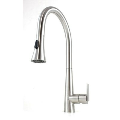 Ariel Single Handle Kitchen Faucet with Pull Out Sprayer Product Photo