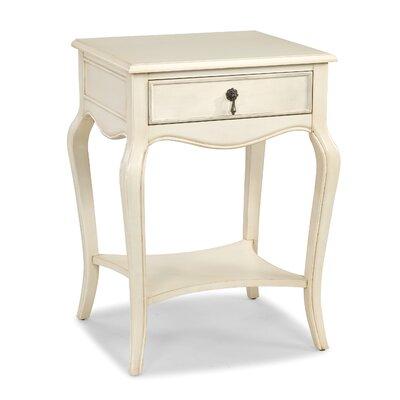 HeatherBrooke Furniture Blanc End Table