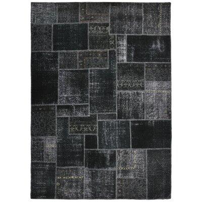 Annata Black Patchwork Area Rug by Kosas Home